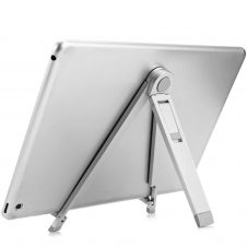 """Hoco - CPH16 asztali fém telefon és tablet tartó max 7""""-ig - ezüst"""