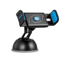 Hoco - CPH17 félautomata autós telefontartó tapadókoronggal max 90 mm szélességig - kék
