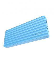 Hoco - Juice divatos power bank 10000 mAh  - kék