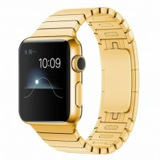 Grand 1 soros láncszemes Apple Watch 42mm fém szíj -arany