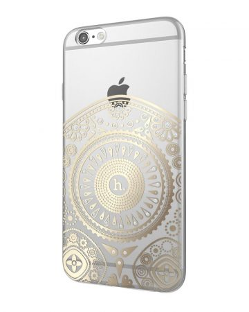 Hoco - Super star series totem mintás iPhone 6plus/6splus tok - arany