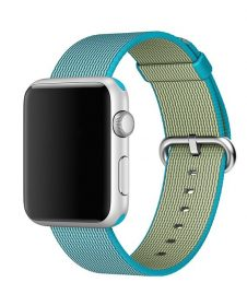 Hoco - Woven Nylon series szőtt műanyag óraszíj Apple Watch 38/40 mm - kék